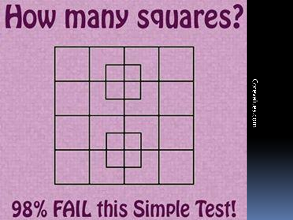 how many squares are there