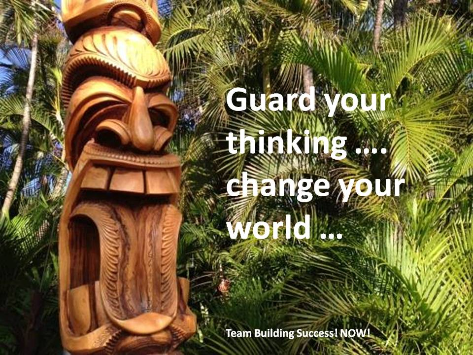 Guard your thinking
